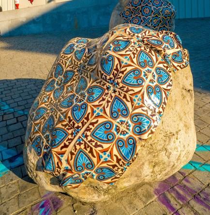 Tiled Rock