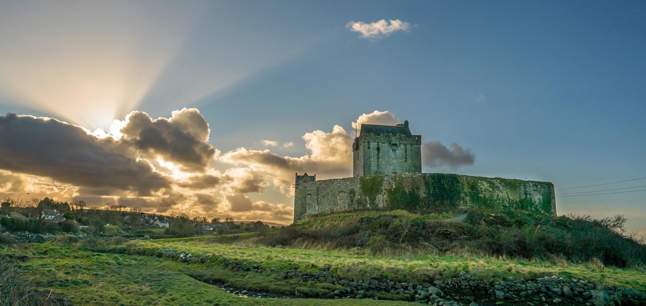 Castle Dunguaire Clouds