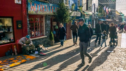 Galway Street Scene