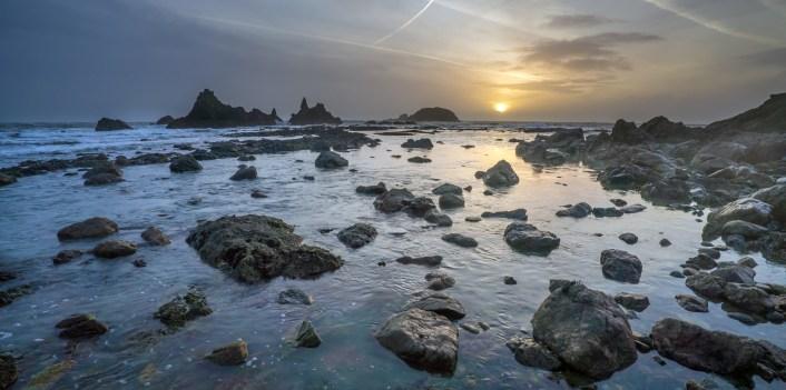Kilfarrasy Beach sunset2