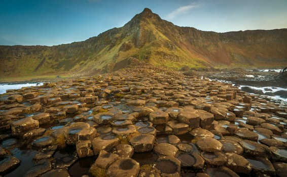 Giants Causeway mountain