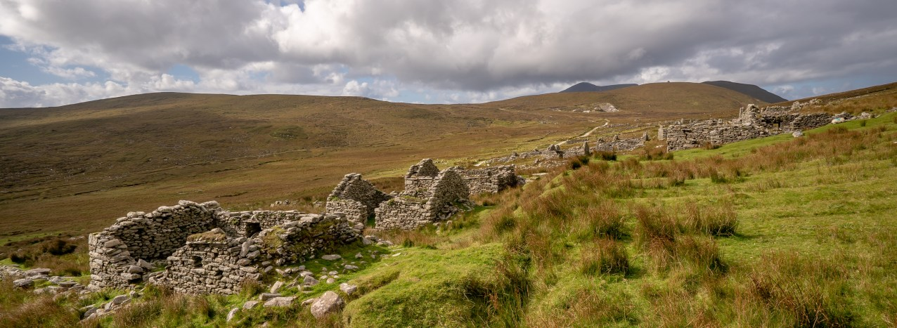 Deserted Village - Looking toward Watchtower
