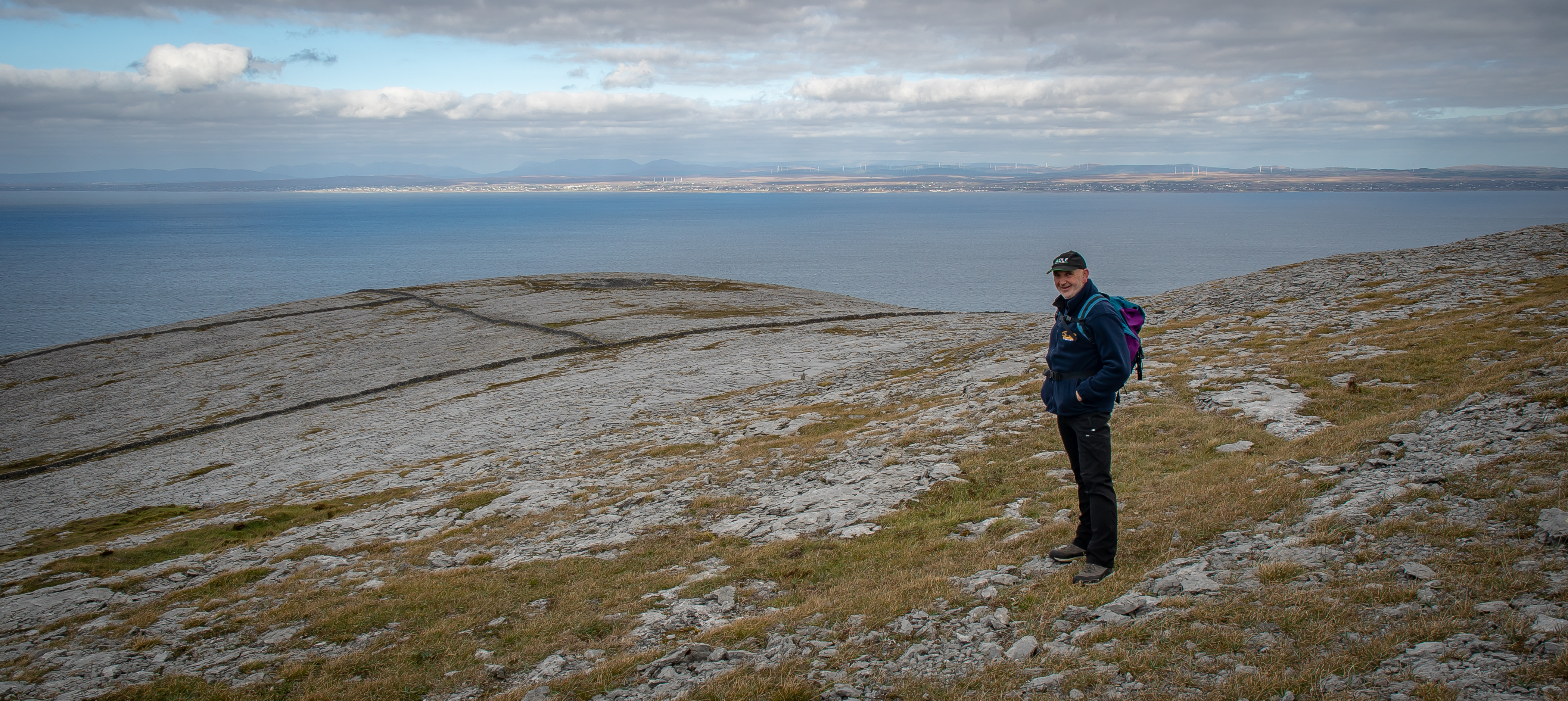 Donal in the Burren