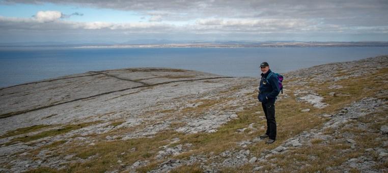 Donal in the Burren