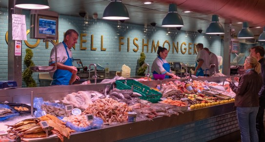 English Market Fishmonger