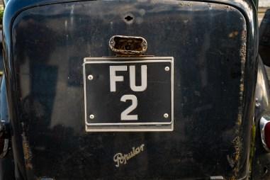 FU2 License Plate