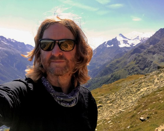 Kev on Mountain