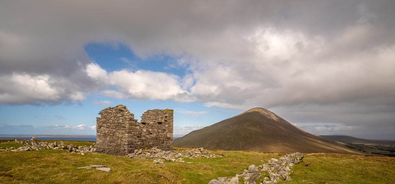 Lookout Tower and Slieve Mor- Achill Island