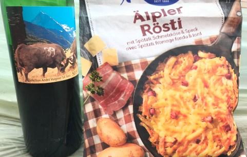 Rosti and Wine