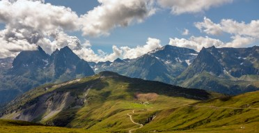 View from Col de Balme