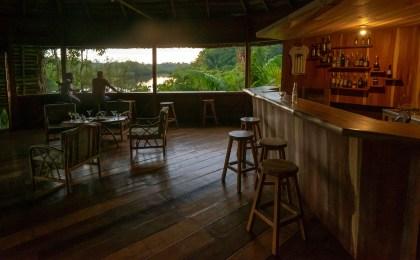Bar at Sani Lodge