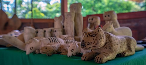 Carved Jaguar
