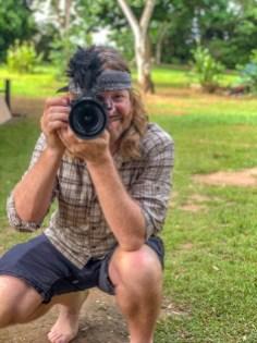 Keven with Camera Facing Camera