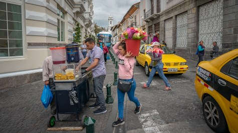 Quito Street Scene 2
