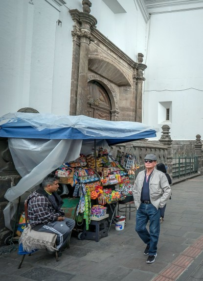 Quito Street Scene