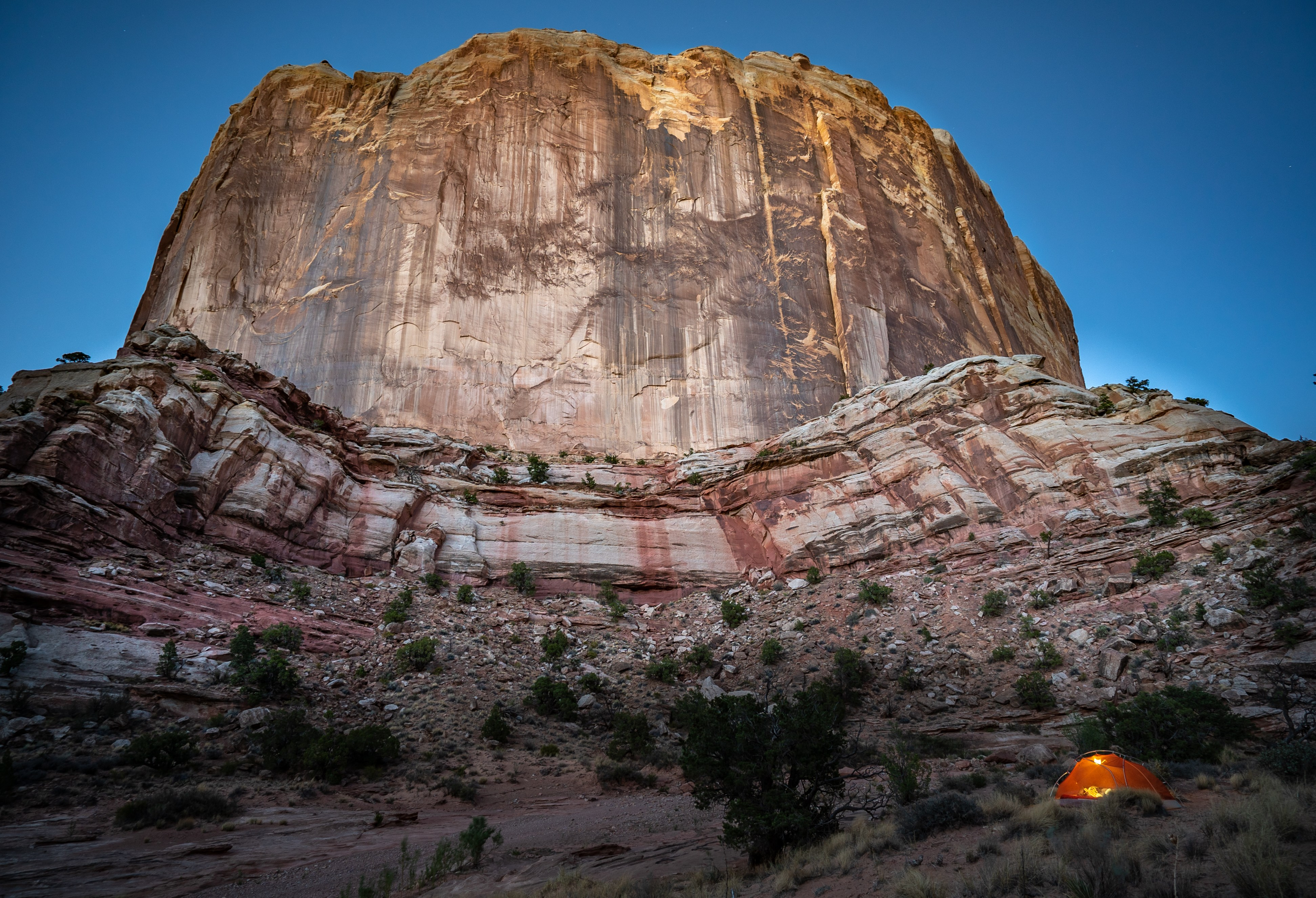 Capitol-Reef-Campsite-by-Cliff