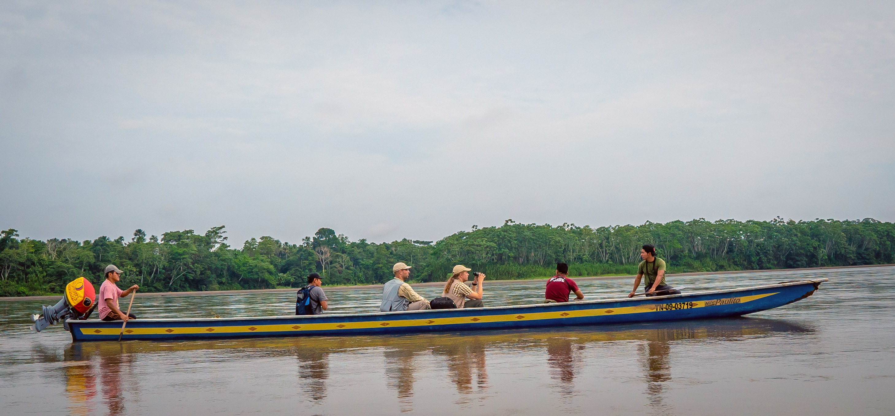 Birding From the Canoe