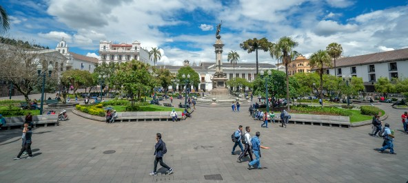 Quito - Independence Plaza
