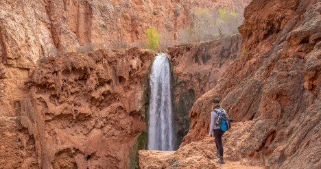 Ashley at Mooney Falls