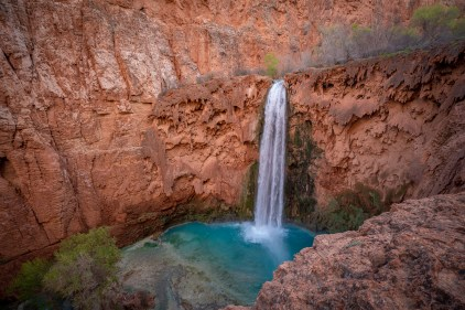 Mooney Falls from Above