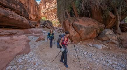 Walking down the Canyon 3