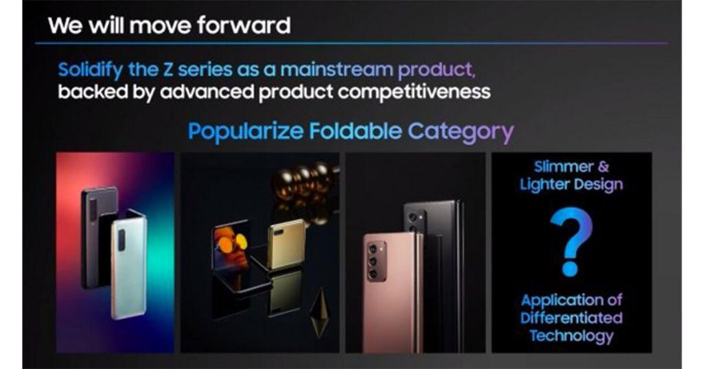 Samsung promet des smartphones pliables plus fins et légers