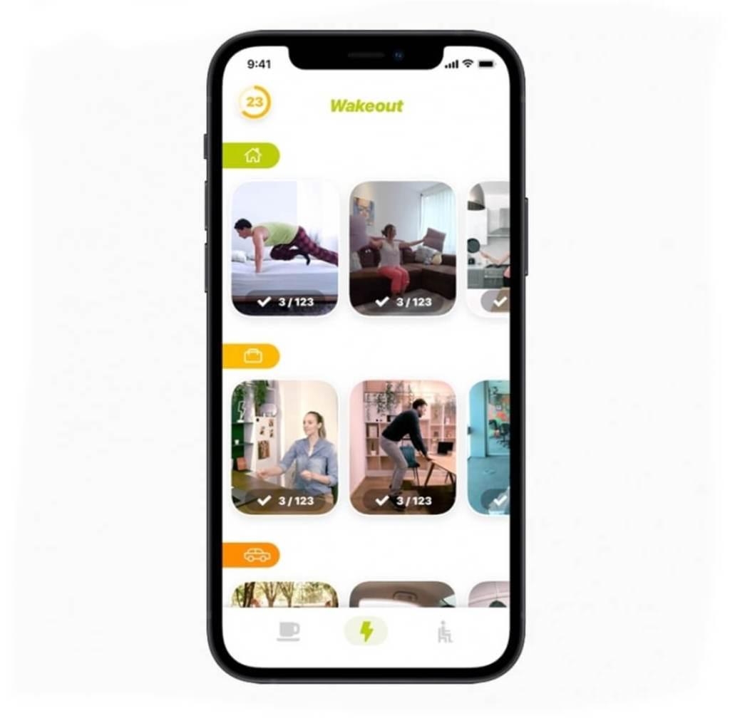 Wakeout est la meilleure application iPhone dApple en 2020 Zoom remporte la victoire sur iPad telephoni
