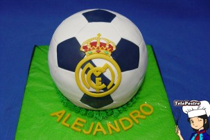 Tarta Balon Real Madrid