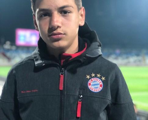 Një talent futbolli po rritet në Suharekë