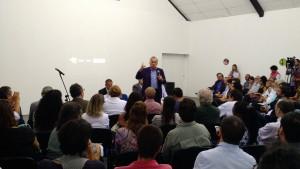 Ministro Juca ferreira (Cultura) fala em evento em defesa do audiovisual e São Paulo