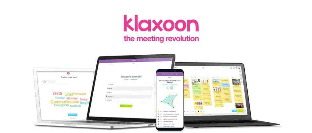 Klaxoon branding