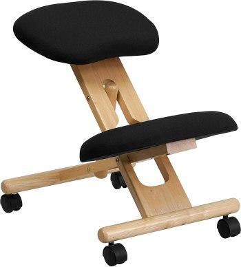 siege assis genoux tabouret ergonomique Flash Furniture