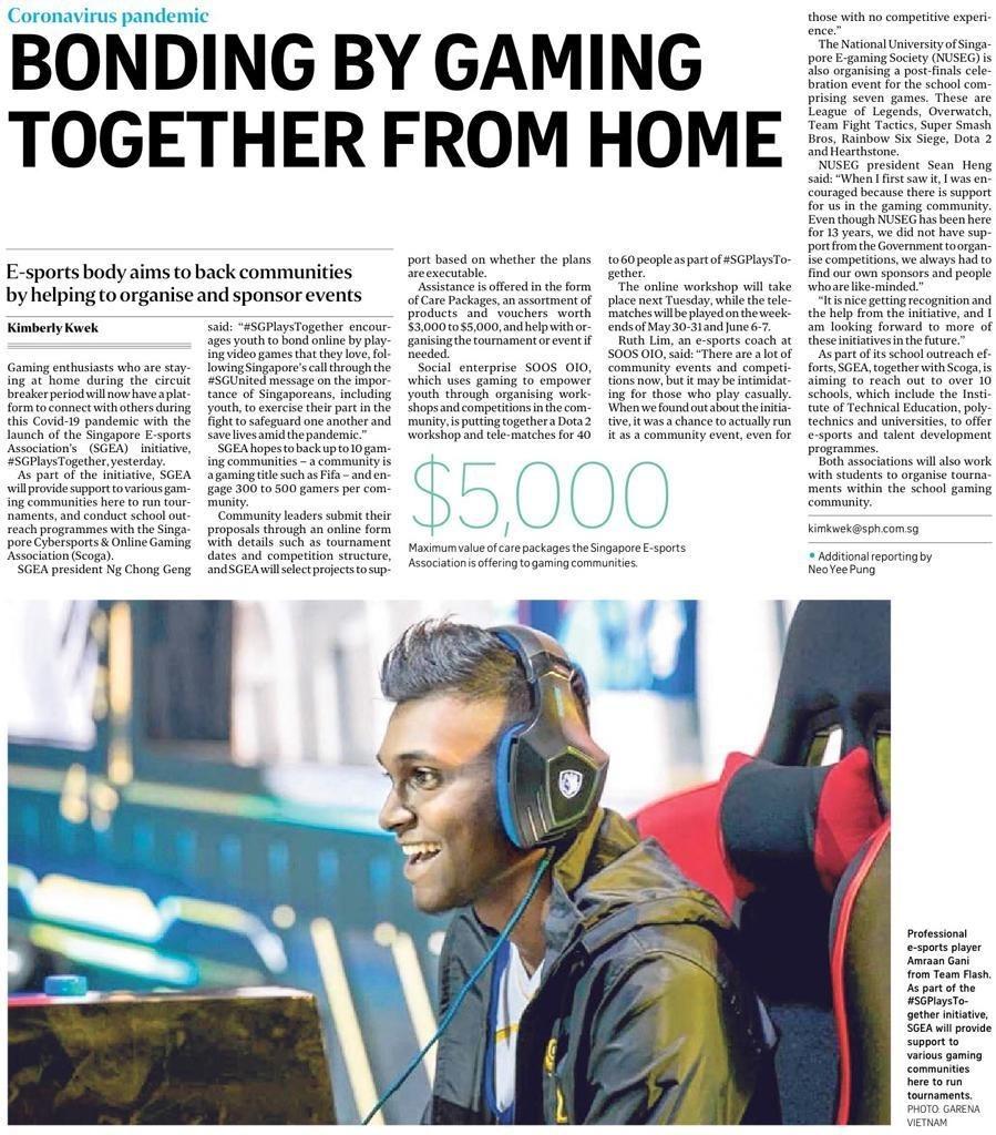 SGPlayTogether Straits Times