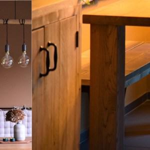Meer ruimte rondom de eettafel creëren + lichtplan