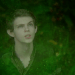 a screencap of rumpelstiltskin's father changing into peter pan (played by robbie kay)