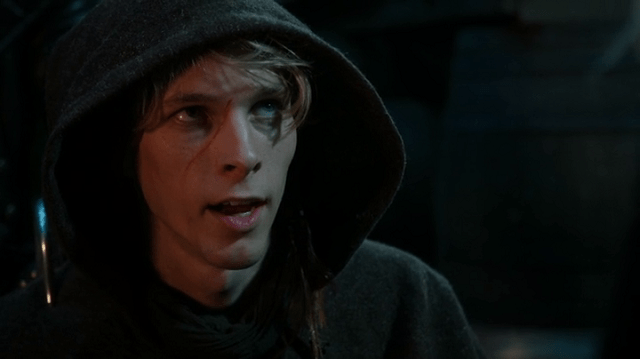 a screencap of felix (played by parker croft)