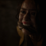 tyene sand (played by rosabell laurenti sellers) is poisoned by cersei
