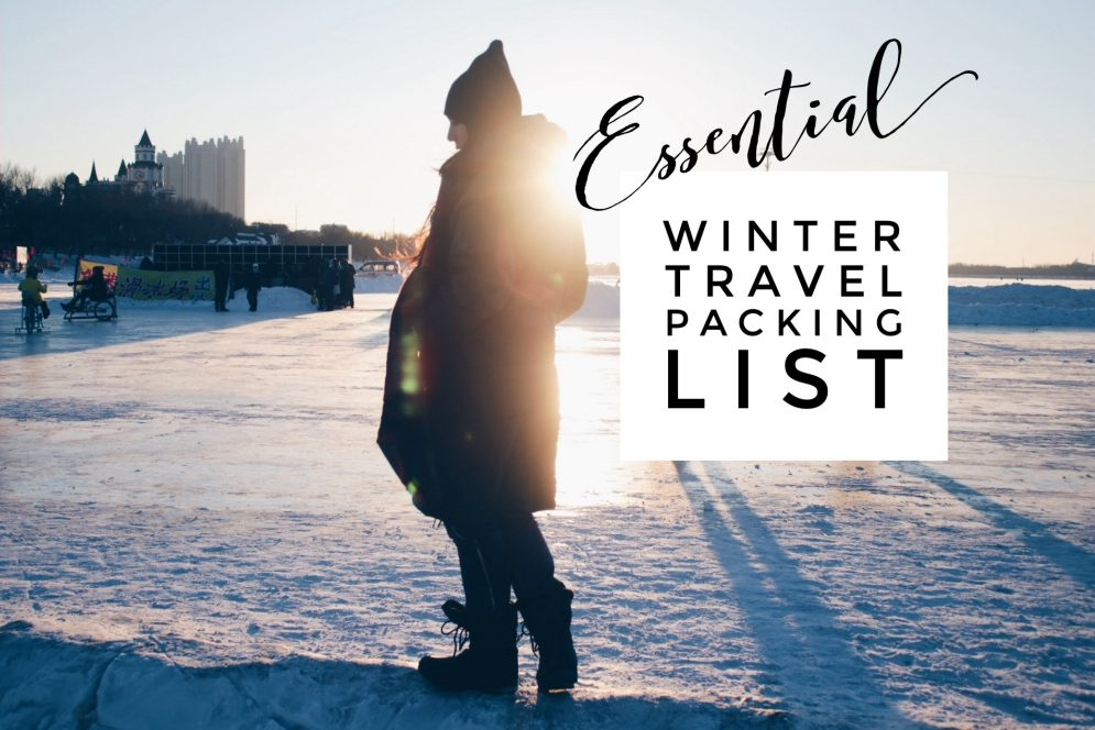 134a05e2b8 Essential Winter Travel Packing List for Subfreezing Temperatures:  Everything you need to stay warm when