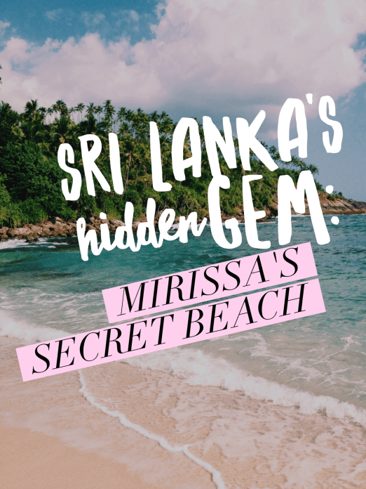 Mirissa, Sri Lanka: Secret Beach - title