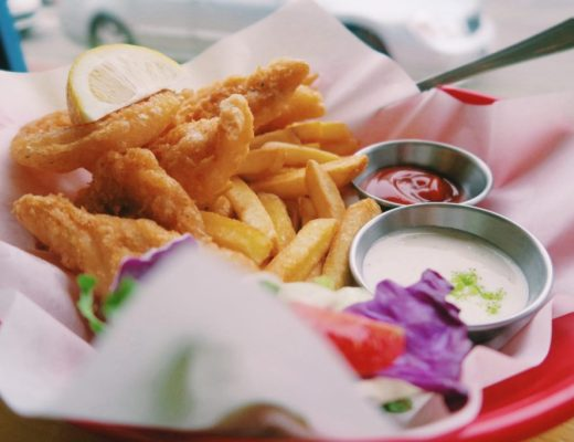 Fish and Chips close-up