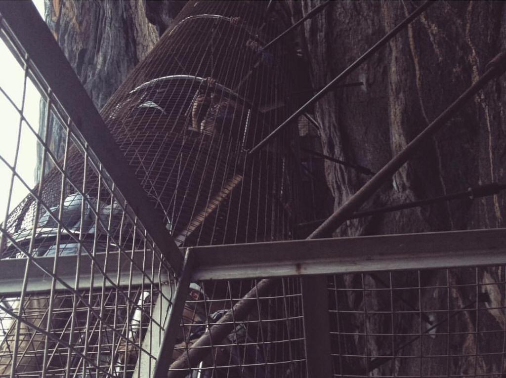 Sigiriya Steps in Sri Lanka
