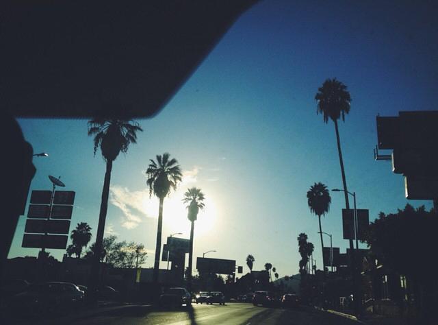 Sunset Blvd, LA