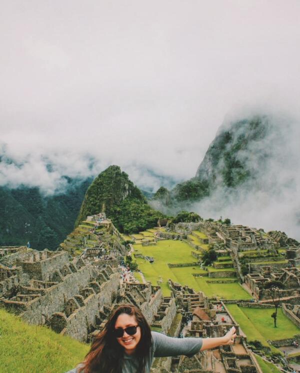 Lauren at Machu Picchu