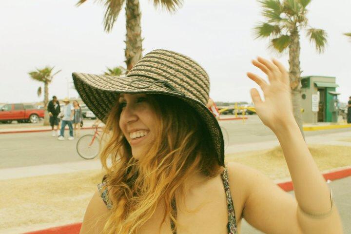 Lauren at Venice Beach, LA