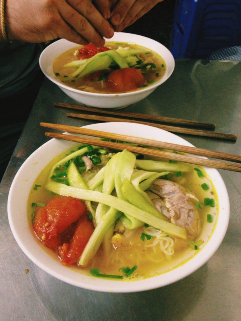 Bún Thịt Mọc Sườn - delicious vietnamese food