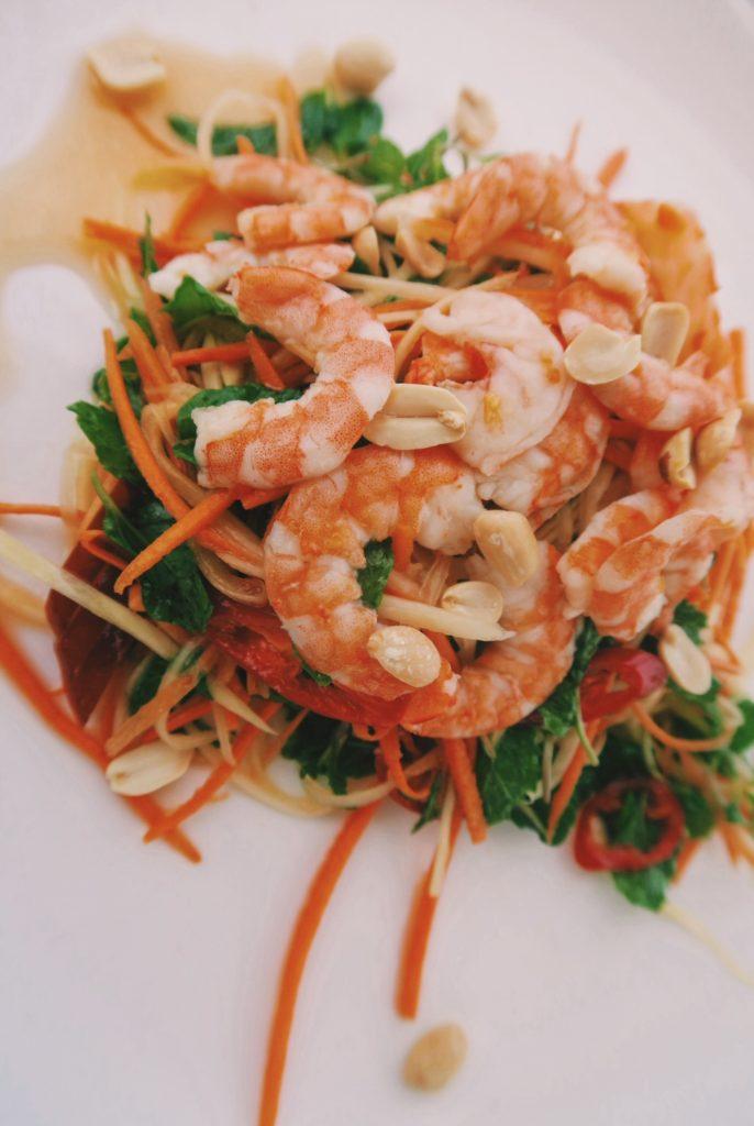 Vietnamese Green Papaya Shrimp Salad (Goi Du Du)