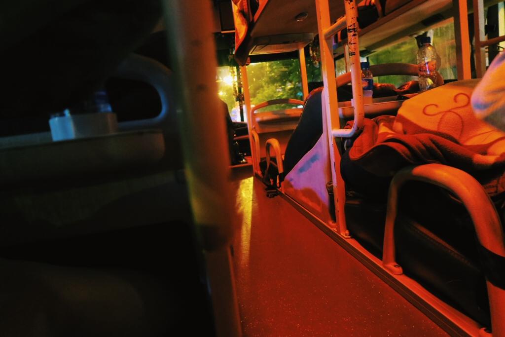 Night Bus to Sapa