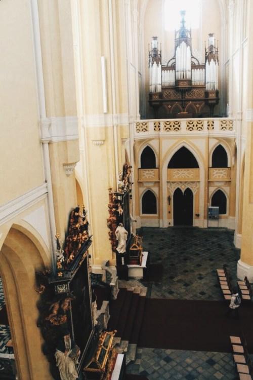 Catholic Kutna Hora Church, Czech Republic