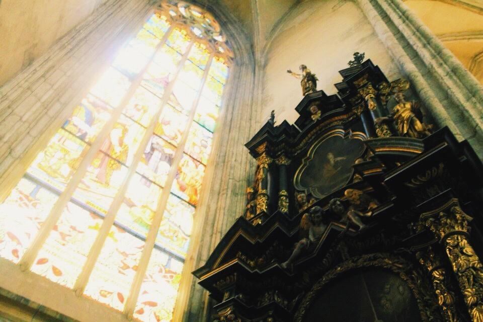The Church of St Barbara in Kutna Hora, Czech Republic