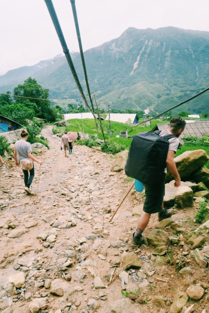 Traveling with a drone in Sapa, Vietnam